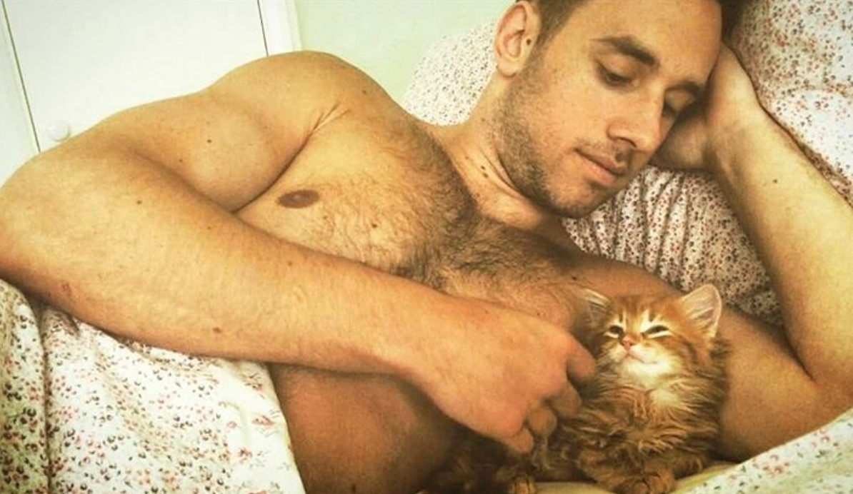 homme-chat