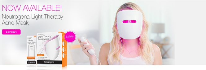 Acne Light Therapy Mask Light Therapy Acne Mask : l'appareil anti-acné de ...